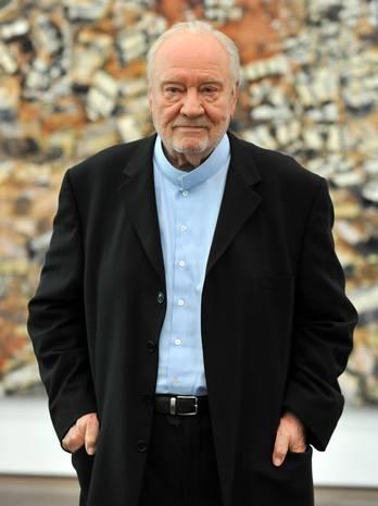 Der Kunstsammler Hans Grothe 2011 in Baden-Baden. FOTO: DPA