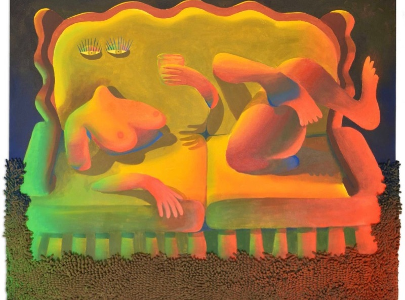 Alicia Adamerovich, Hydration, 2018. Galerie Kornfeld